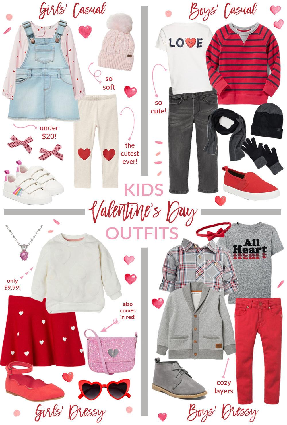 kids valentine's day outfit ideas  sandy a la mode