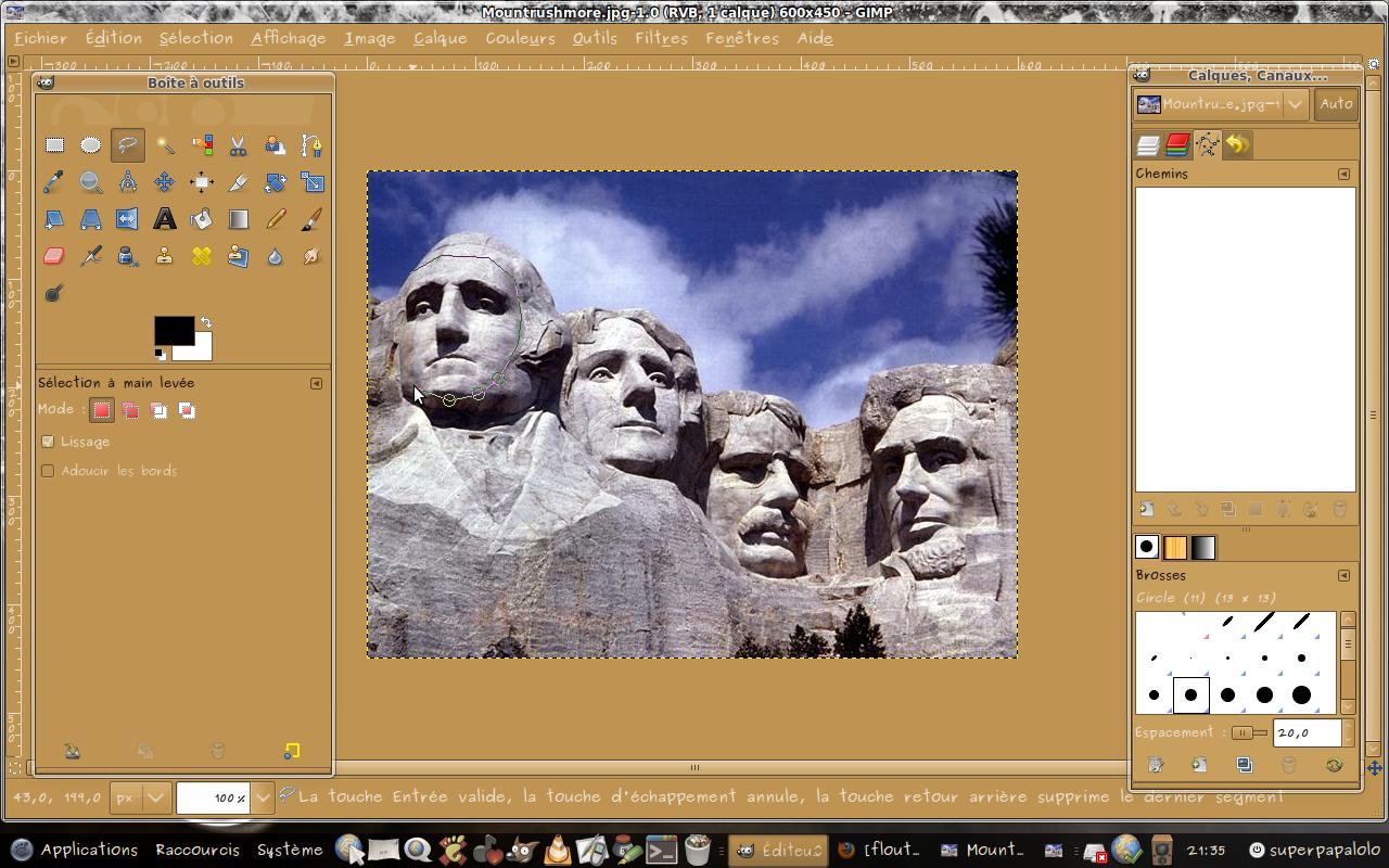 Librepctoile Libreorg Gimp