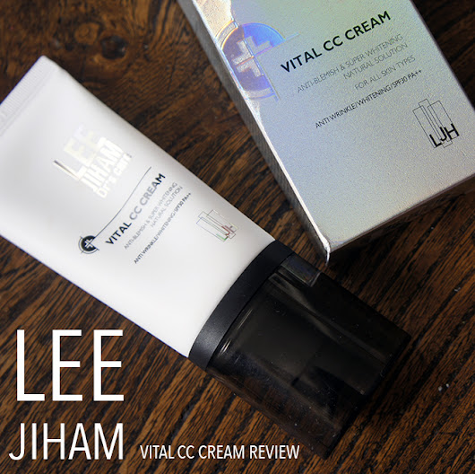 LEE JIHAM CC CREAM REVIEW // BEFORE AND AFTER.