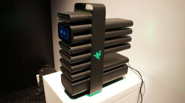 Razer's Modular Desktop Makes Building a PC Like Playing with Legos