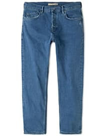He By Mango Straight-fit Medium Wash Steve Jeans