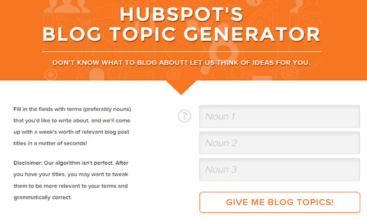 Don't Miss These 4 Free Online Blog Title Generators | Online Marketing Tips (SEO, SMO & Content Marketing)