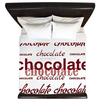 Celebrate Chocolate King Duvet