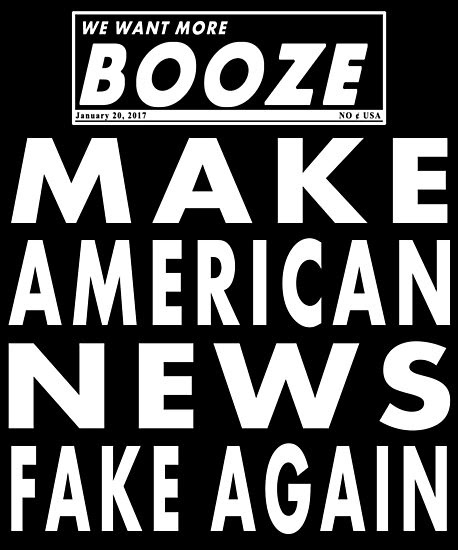 'Make American News Fake Again' Photographic Print by electrovista