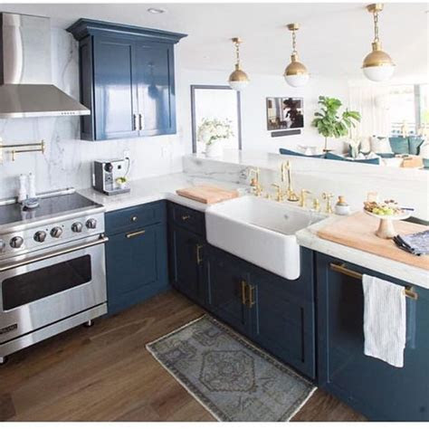 Blue In Kitchen Ideas