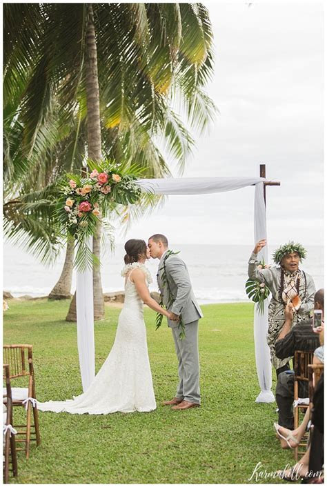 Hannah & Kyle's Dream Maui Destination Wedding