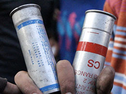 cs gas canister