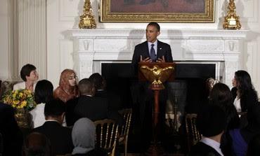 Obama speaks at Ramadan dinner