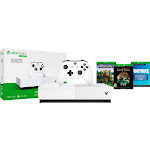 Microsoft - Xbox One S 1TB All-Digital Edition Console (Disc-free Gaming) - White
