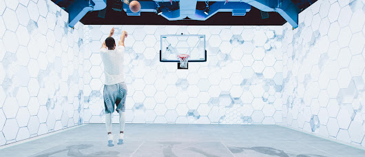 Immersive Michael Jordan Simulator Is the World's Coolest Basketball Court | WIRED