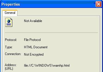 WarnHP HTML Display Properties