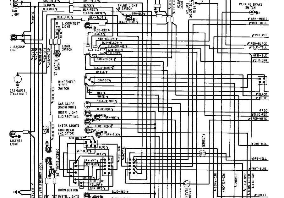 67 Mustang Fuse Panel Diagram