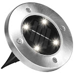 E.mishan & Sons 1998 Light Disk Led Outdoor Solar