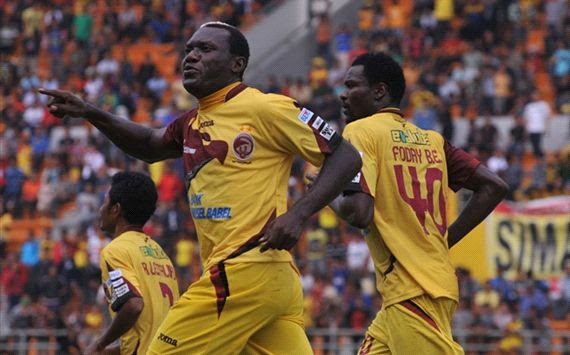Herman Dzumafo - Sriwijaya FC (GOAL.com/Antara)