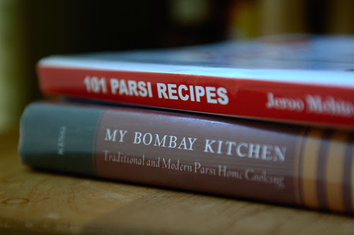 Parsi cookbooks