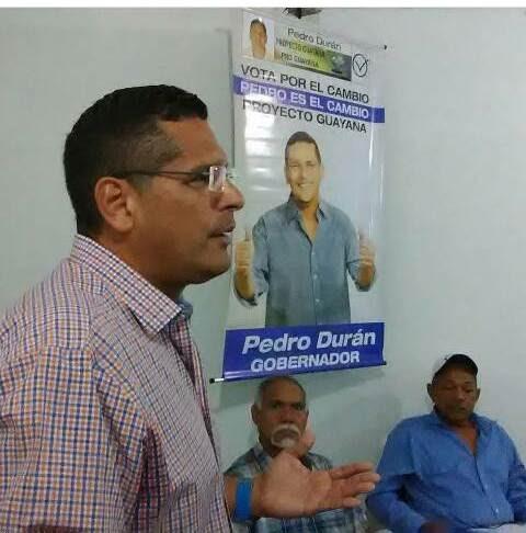 Pedro Durán lunes