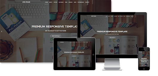 Multipurpose HTML Template - One Fold