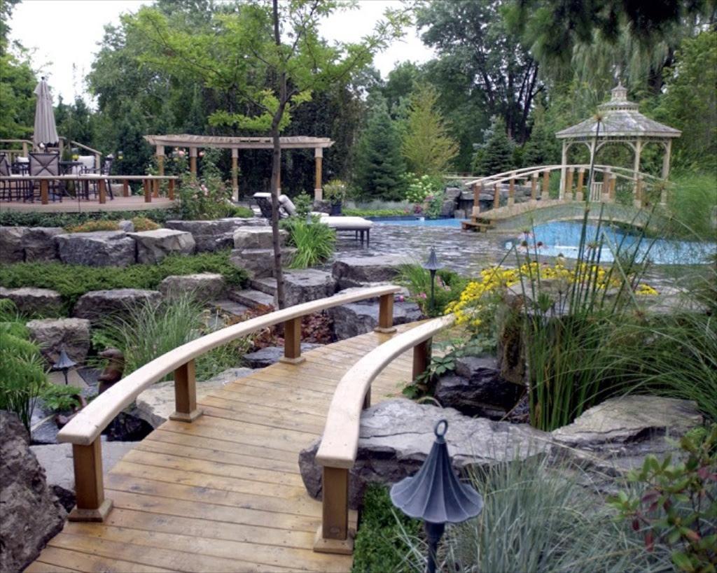 Rectangular Backyard Landscaping Ideas