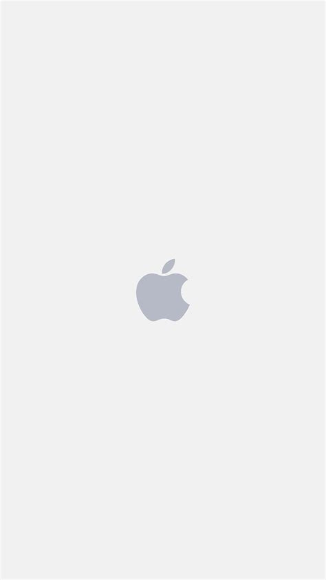 iphone apple logo white art illustration wallpaper