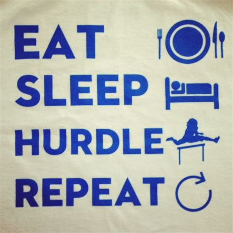 Hurdles Track And Field Quotes