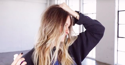 "Watch: Gigi Hadid's Hairstylist Explains How to Get Messy ""Bend"" Waves"