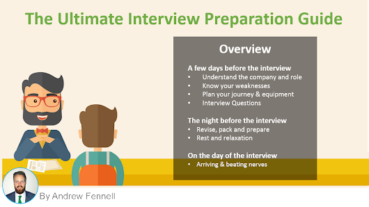 How to prepare for a job interview - The Ultimate Guide