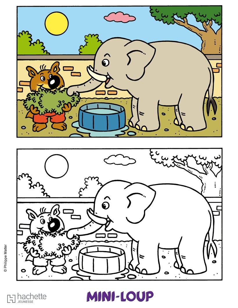Inspiration Coloriage Mini Loup A Imprimer | Haut Coloriage HD-Images et Imprimable Gratuit