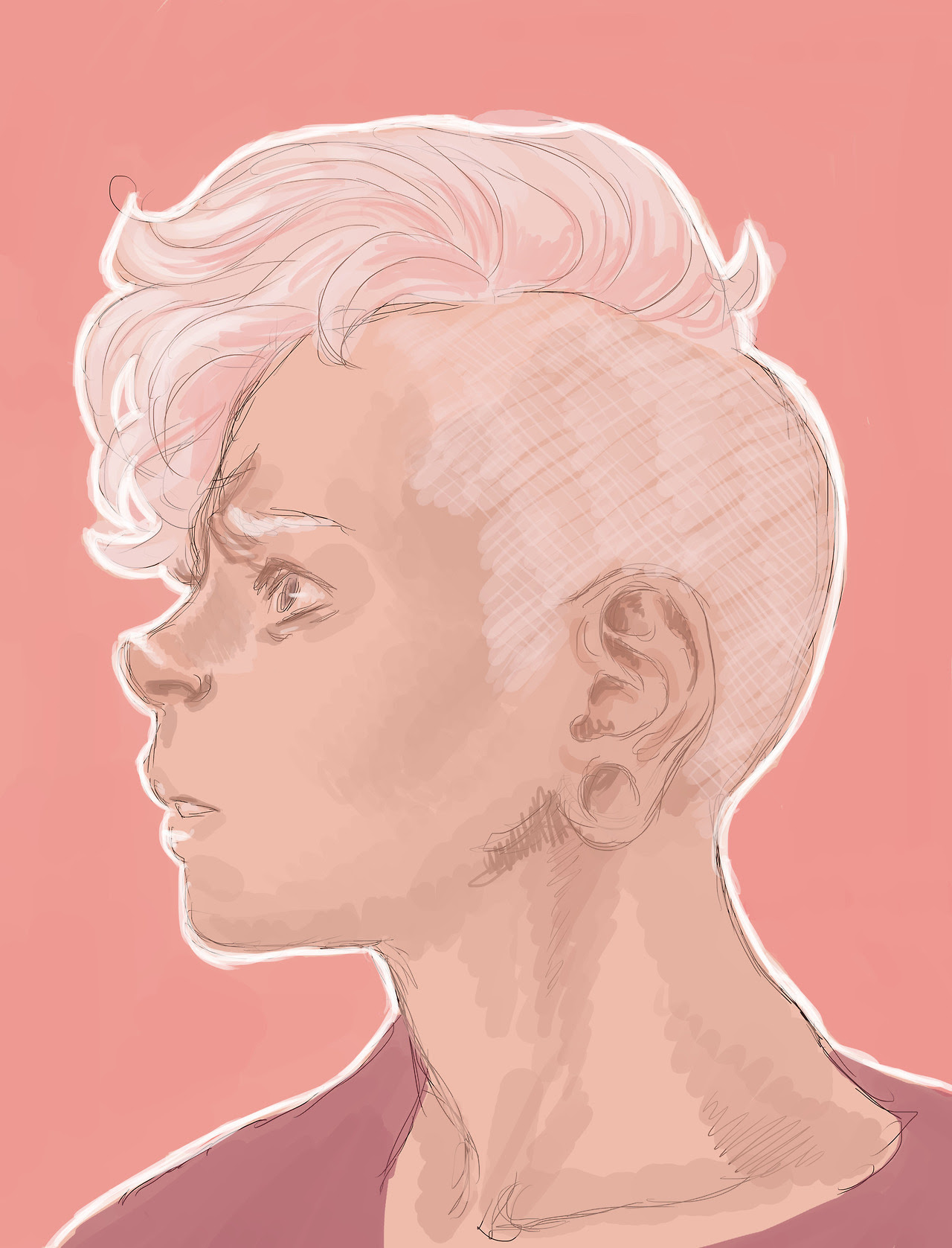 I think Lars has become my new favourite Steven Universe character, I'm loving the new pink look too