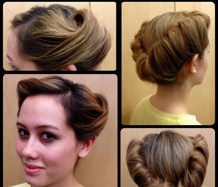 Simple Easy 1940s Hairstyles For Long Hair