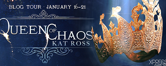 Blog Tour: Queen of Chaos (The Fourth Element #3) by Kat Ross {Review + #Giveaway}