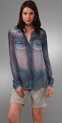 equipment western blouse
