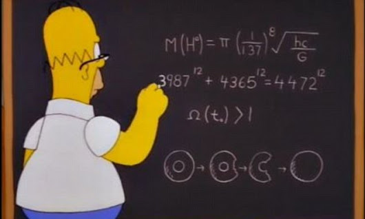 Did Homer Simpson discover the Higgs boson 14 years before CERN?