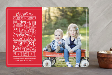 Help Me Choose a Christmas Card!