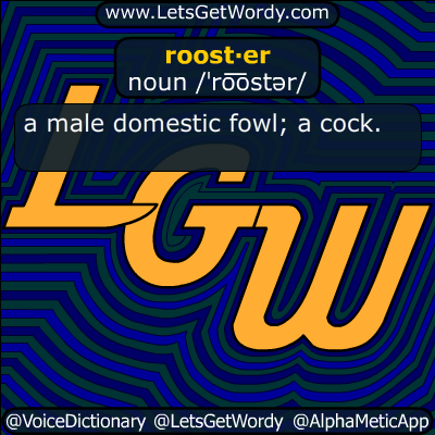 rooster 01/28/2017 GFX Definition