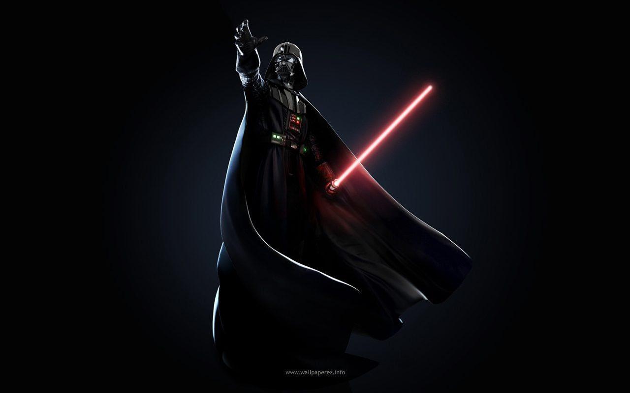 Darth Vader étoile étoile Star Wars Fond Décran