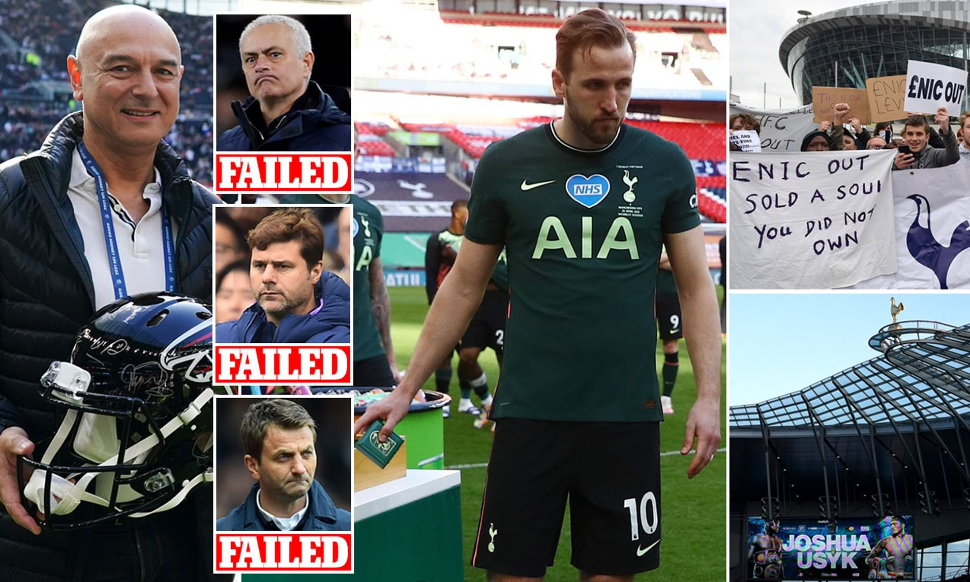Tottenham Supporters' Trust say THIRTEEN questions need urgent answers... Sportsmail examines each
