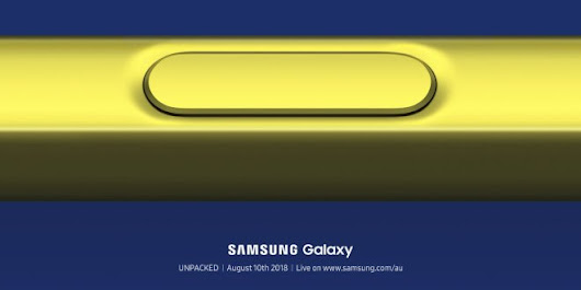 Vodafone opens pre-registration for Samsung's Galaxy Note 9 before its even announced - Ausdroid