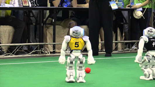 Robot Soccer is actually good today | MilkyWayTimes.com