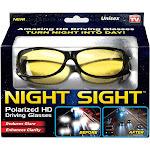 Night Sight Night Sight Driving Glasses, Polarized HD, Unisex