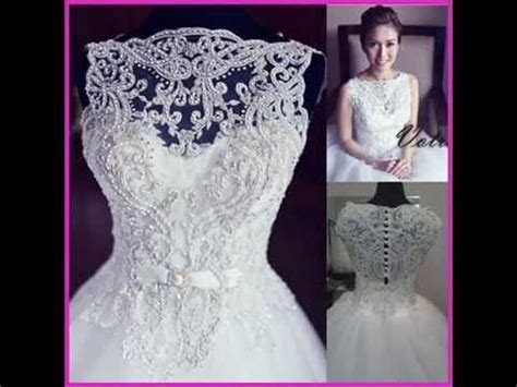 The Most Beautiful Wedding Dresses 2015   YouTube
