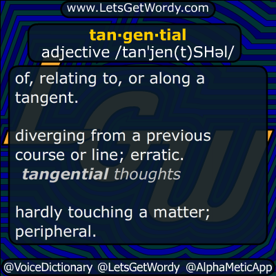 tangential 12/19/2014 GFX Definition