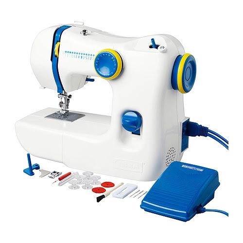 SY Máquina de costura IKEA Fácil de usar; inclui instruções de demonstração; ideal para principiantes. A iluminação integrada é mais prática.