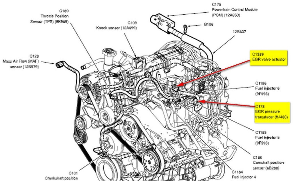 Ford Ranger 4 0 Engine Cooling System Diagram