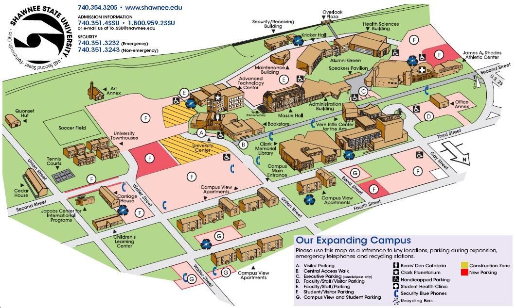 Cleveland State University Campus Map Cleveland State University Campus Map | World Map Gray