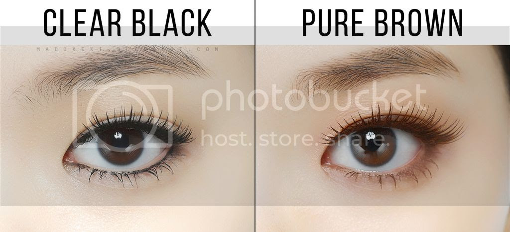 etude house  UNIVERSE LASH PERM CURL FIX MASCARA swatches