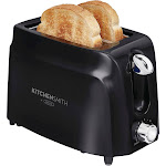 Kitchen Smith by Bella 2-Slice Toaster - Black