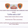 """Coffee with a Cop"" at Mustard Seed Cafe tomorrow! - Moriches Community Center"