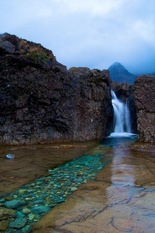 cascada, Escocia