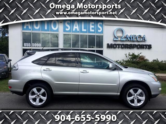 Used 2008 Lexus RX 350 FWD for Sale in Jacksonville FL 32246 Omega Motorsports