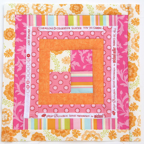 Project Improv Orange/Pink Block